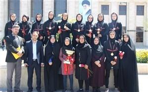 قهرمانی تیم فوتسال دانش آموزان دخترشهرستانهای استان تهران