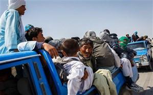 مهاجران افغانستانی قسطی از مرز رد میشوند