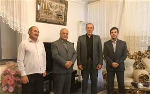 دیدار مدیرکل و مسئولان آموزش و پرورش استان با آزاده فرهنگی