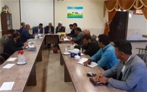 جلسه شورای آموزش و پرورش با محوریت اجرای پروژه مهر 98