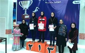 اعلام برترینهای مسابقات ورزشی قهرمانی دانشآموزان دختر کشور در رشته شنا