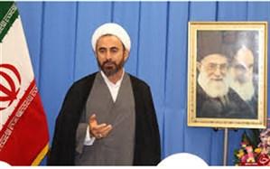 امام جمعه ایلام :  دشمن قادر به جلوگیری از به اهتزار درآمدن پرچم ایران نیست