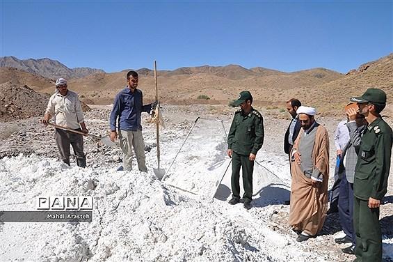 بازدید مسئولان از اردوی جهادی دانشجویان شهرستان خوسف