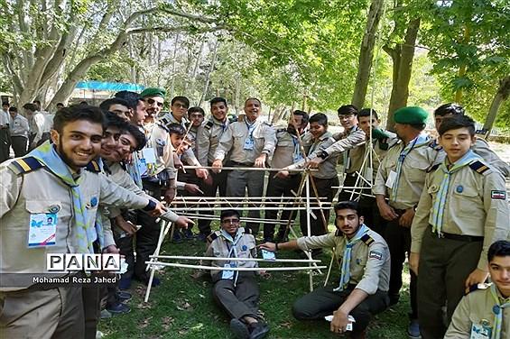 دومین روز حضور پیشتازان پسر خوزستان در نهمین دوره اردوی ملی نیشابور
