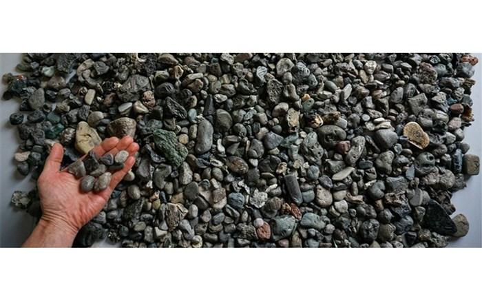 کشف زبالههای پلاستیکی که با سنگریزه مو نمیزنند!