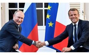 مکرون در دیدار با پوتین: به توافق هسته ای احترام می گذاریم