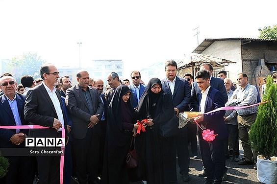 افتتاح پل شهید سید حسین آملی در ساری