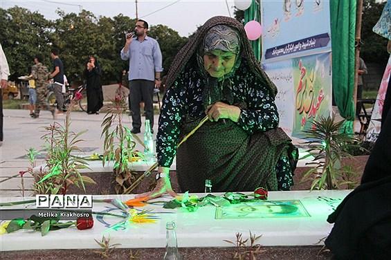 جشن عید غدیر در روستای خوردونکلای محمودآباد