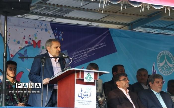 کاظمی: برنامههای سازمان دانشآموزی بهترین بستر برای تربیت دانشآموز تمامساحتی است