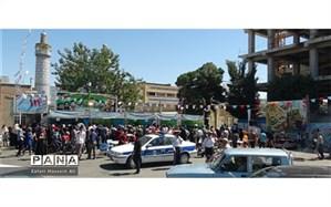 برپایی ایستگاه های صلواتی غدیردرشیروان