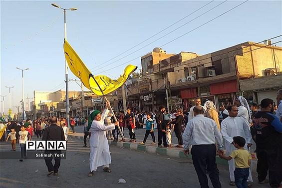 برگزاری آیینهای عید غدیر در شهرستان حمیدیه