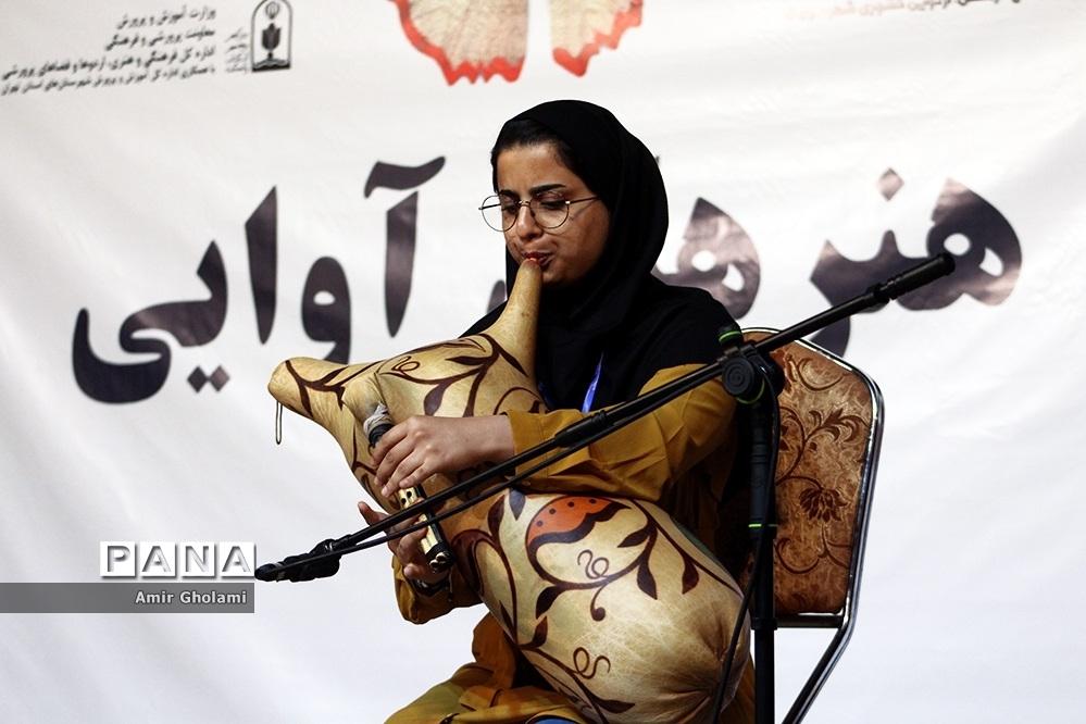 اولین روز از رقابتهای سی و هفتمین جشنواره فرهنگی و هنری دختران سراسر کشور