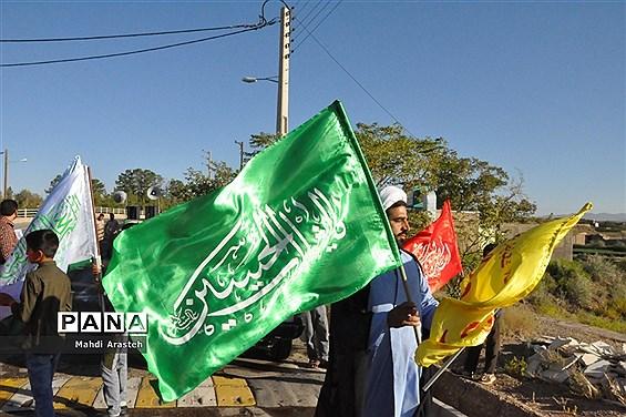 حرکت کاروان شادی غدیر در شهرستان خوسف