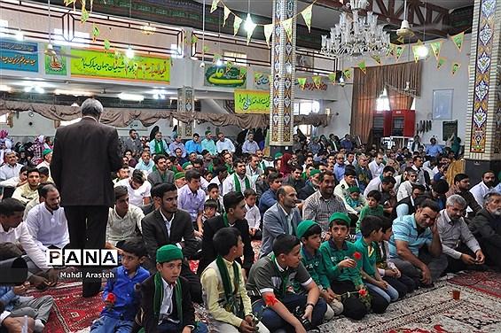 جشن روز عید سعید غدیرخم در دارالسیاده سوجان شهرستان خوسف