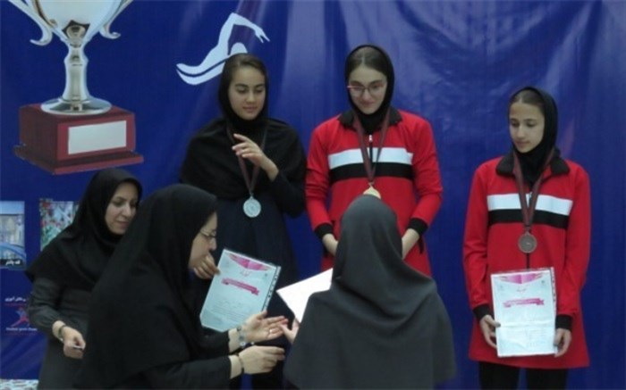 تیم شهر تهران قهرمان مسابقات شنا دانشآموزان دختر در شهرکرد شد