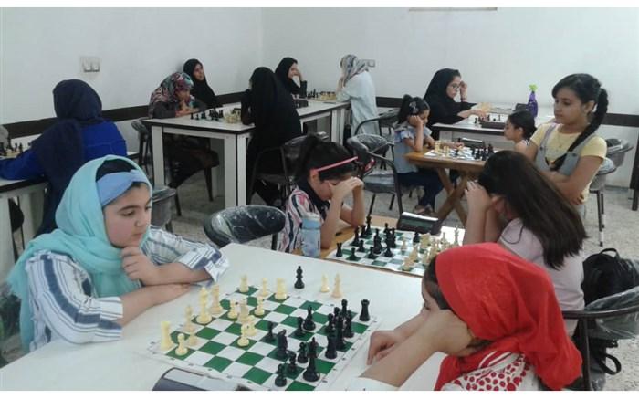 مسابقات شطرنج بانوان شهرستان امیدیه