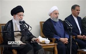 دیدار اعضای هیات دولت با رهبر انقلاب