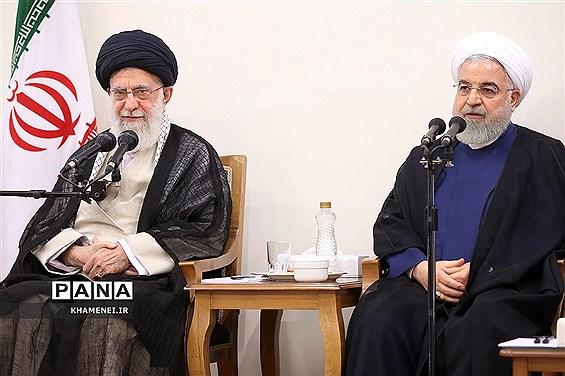 رهبر انقلاب: دولت در این دو سال باقیمانده، از حواشی و مسائل فرعی فاصله بگیرد