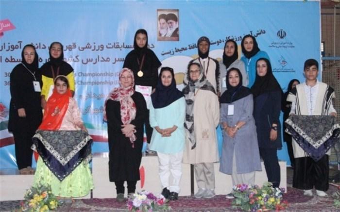 تیم استان فارس قهرمان رقابتهای دوومیدانی دختران دانشآموزان در شهرکرد شد