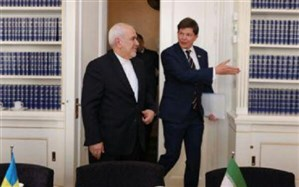 ظریف با رئیس پارلمان سوئد دیدار و گفتگو کرد