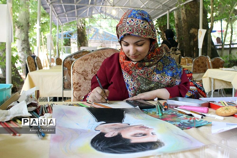 دومین روز از رقابتهای سی و هفتمین جشنواره فرهنگی و هنری دختران سراسر کشور