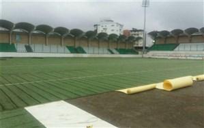ورزشگاه شهدای نوشهر به بهرهبرداری میرسد