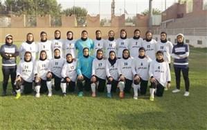 بانوان البرزی به لیگ برتر فوتبال صعودکردند