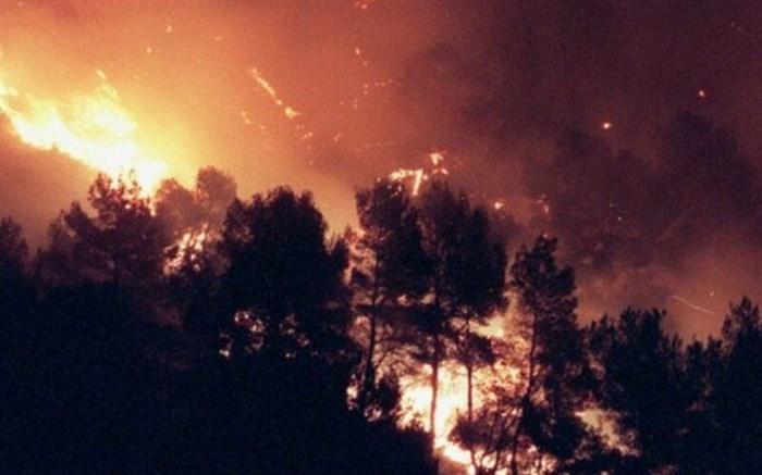 آتش سوزی ارسباران