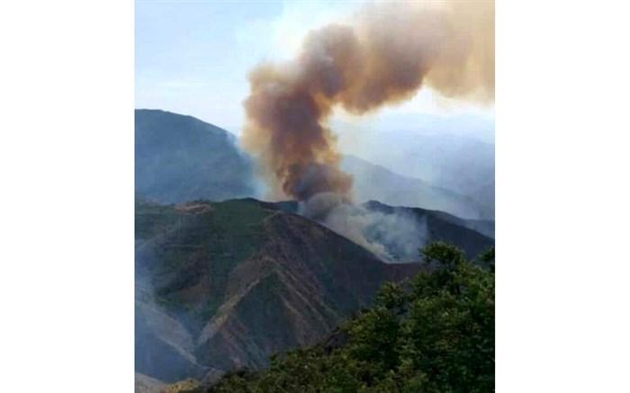 آتش سوزی جنگلهای ارسباران