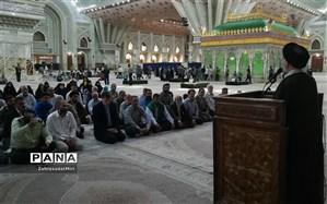 تجدید میثاق مسئولین خاورشهربا آرمانهای امام خمینی(ره)
