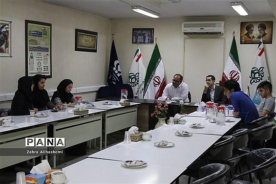 نشست ماهیانه مجلس دانشآموزی شهر تهران