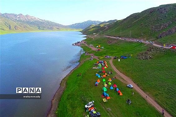 دریاچه زیبای نئور - اردبیل