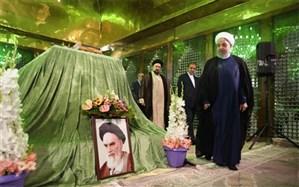 تجدید میثاق هیات دولت با آرمانهای امام راحل