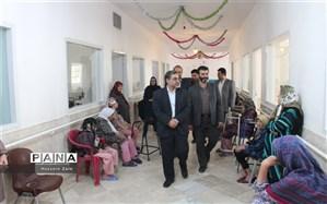 همزمان با آغاز هفته دولت؛ بازدید سرپرستفرمانداری شهرستان تفت از موسسه نیکوکاری فاطمه الزهرا(س) تفت