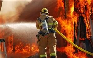 آتش نشانان کازرونی به اطفاء دو  حریق پرداختند