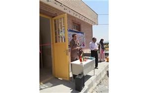 افتتاح مدرسهی دوکلاسه ( ایران من) در روستای زاوله بخش گهواره