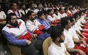 تجلیل از پزشکان داوطلب جمعیت هلال احمر استان زنجان