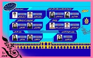 افتخارآفرینی دانش آموزان اصفهانی در مرحله کشوری جشنواره نوجوان خوارزمی