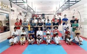 درخشش تیم کاراته آکادمی نوروزی در مسابقات شیتوریو کن شی کان