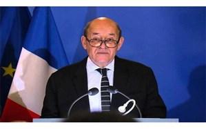 لودریان: فرانسه مدرکی در مورد مبداء پرواز پهپادها به سوی عربستان ندارد