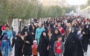 برگزاری همایش پیادهروی خانوادگی درشهرستان ملارد