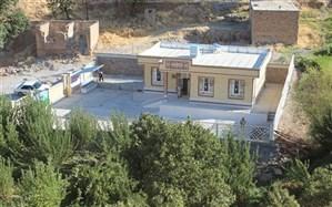 مدرسه خیری روستای ده شیرین شهرستان دنا  افتتاح شد
