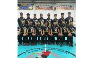 تیم فراز بام  خائیز دهدشت قهرمان مسابقات هندبال خردسالان ایران شد