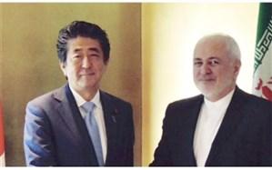 رایزنی ظریف با نخستوزیر ژاپن در توکیو