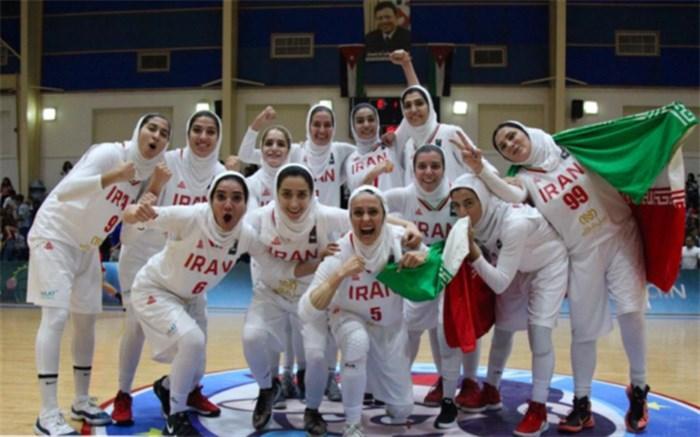 تیم ملی بسکتبال زنان ایران