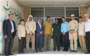 ارودی جهادی دانشجو معلمان دانشگاه فرهنگیان اصفهان برگزار شد