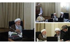 حضور همزمان آیات یزدی و آملی لاریجانی در جلسه امروز شورای نگهبان + تصویر