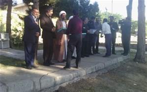 آیین اختتامیه دوره آموزشی طرح شهید بهنام محمدی در قزوین برگزار شد