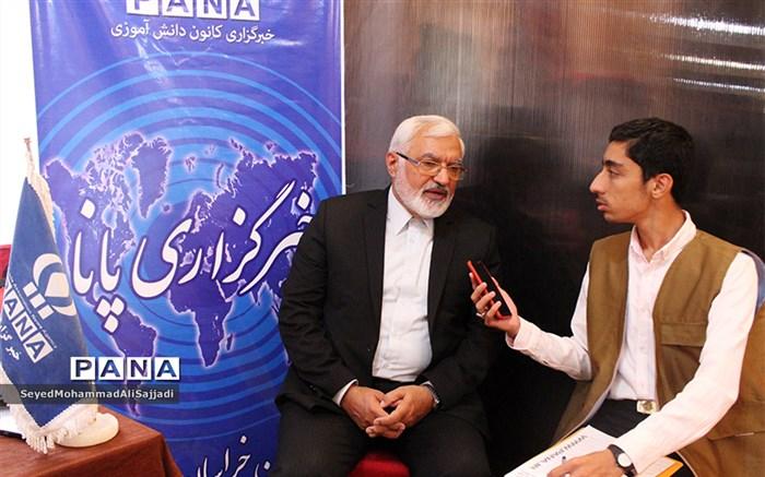 مصاحبه با علیرضا حاجیان زاده رئیس ستاد همکاری حوزه های علمیه و آموزش و پرورش
