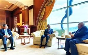 ظریف با نخست وزیر مالزی دیدار کرد